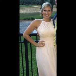 Beautiful bridesmaid or formal dress.